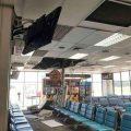 ระทึก !! ฝ้าเพดานสนามบินภูเก็ตร่วงใส่หัวผู้โดยสาร ทำหัวแตก-เลือดอาบ