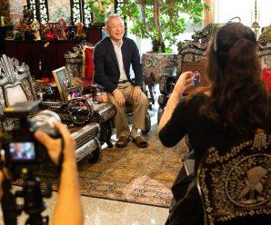 """สำนักข่าว CTTV4 สัมภาษณ์""""ดร.อมร"""" ถึงบทบาทสมาะันธ์รวมใจชาวจีนฯ"""