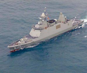 คลิปเรือหลวงภูมิพลอดุลยเดช กำลังเดินทางเข้าสู่น่านน้ำไทย เตรียมพิธีต้อนรับ 7 ม.ค.
