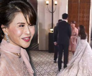 ทูลกระหม่อมหญิงอุบลรัตนฯ เสด็จร่วมงานแต่ง อุ๊งอิ๊ง แพทองธาร ที่ฮ่องกง