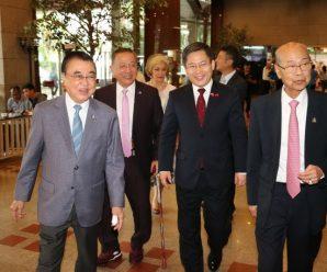 """""""พณฯหลู่ว์เจี้ยน""""เอกอัครราชทูตจีน ร่วมงานสัมมนาของหอการค้าไทย-จีนและสมาคมแต้จิ๋วฯ"""
