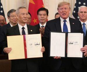 โลกโล่งใจ! 'สหรัฐ-จีน' ลงนามความตกลงการค้าแล้ว