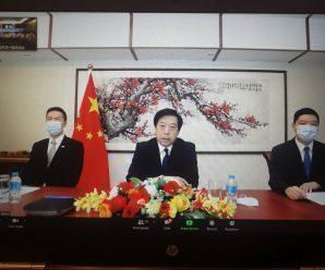 """ดร.อมร นำผู้บริหารสมาพันธ์รวมใจชาวจีนฯ ต้อนรับ""""หาน จื้อเฉียง""""เอกอัครราชทูตจีนฯคนใหม่"""